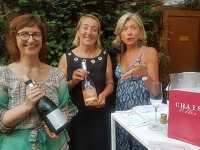 Belle soirée Allianz qui soutient Chais Elles et les femmes vigneronnes