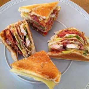 Recette Club sandwich américain