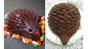 Recette Henry le hérisson, gâteau au chocolat pour anniversaire