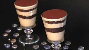 Recette Crème au café et chocolat façon tiramisu