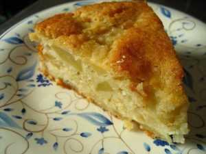Recette Gâteau de Bretagne aux pommes