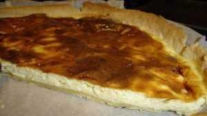Recette Tarte au fromage blanc légère