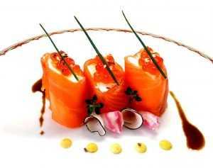 Recette Roulades de saumon fumé au caviar