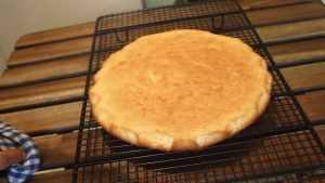 Recette Biscuit fin - fond de gâteau