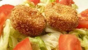 Recette Croquettes de pommes de terre et chèvre