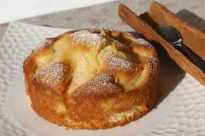 Recette Petits gâteaux pomme-cannelle