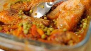 Recette Râgout de légumes et poulet
