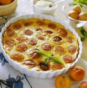Recette Clafoutis exotique aux abricots secs