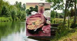 Recette Jambon aux moghettes du marais poitevin