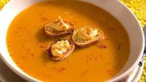 Recette Soupe de poisson safrané