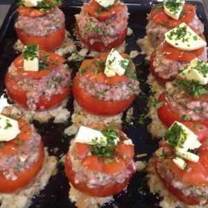 Recette Tomates farcies de Pierre Marchesseau