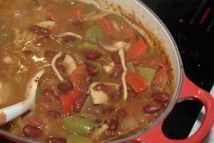 Recette Chili de blancs d'encornet