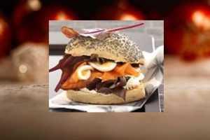 Recette Hamburger d'Esturgeon fumé ou poêlé