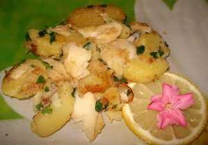 Recette Morue poêlée et son beurre fondu au laurier