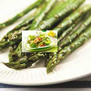 Recette Salade d'asperges aux crustacés