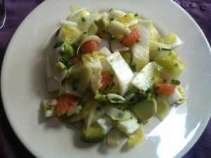 Recette Salade endive avocat