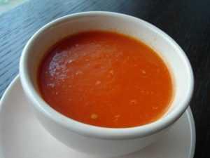 Recette Soupe à la tomate maison