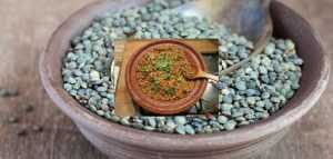 Recette Lentilles vertes au beurre de baratte