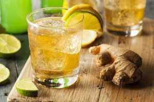 Recette Champagne gingembre