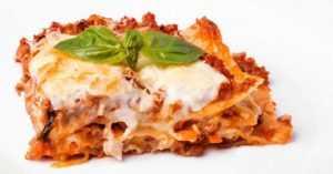 Recette Lasagnes légères au boeuf