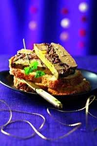 Recette Terrine de foie gras aux cèpes et aux noix