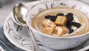 Recette Velouté de châtaignes aux truffes