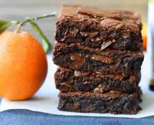 Recette Brownies chocolat-orange