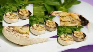 Recette Champignons farcis au camembert