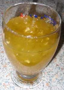 Recette Confiture de courgettes et abricots secs