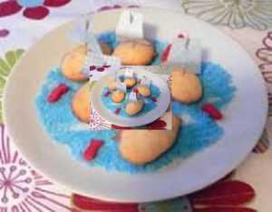 Recette Gâteau bouée d'amour (pâte qui lève dans l'eau )