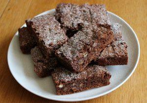 Recette Gâteau chocolat, noix et noisettes