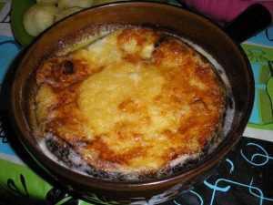 Recette Matouille ou fondue des bauges (Savoie)