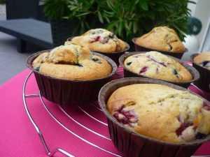 Recette Muffins à la compote de fruits au mascarpone