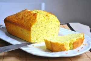 Recette Cake au pavot et au citron