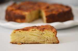 Recette Gâteau minute aux pommes