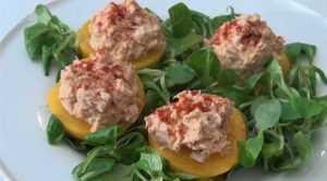 Recette Salade de pêche au thon