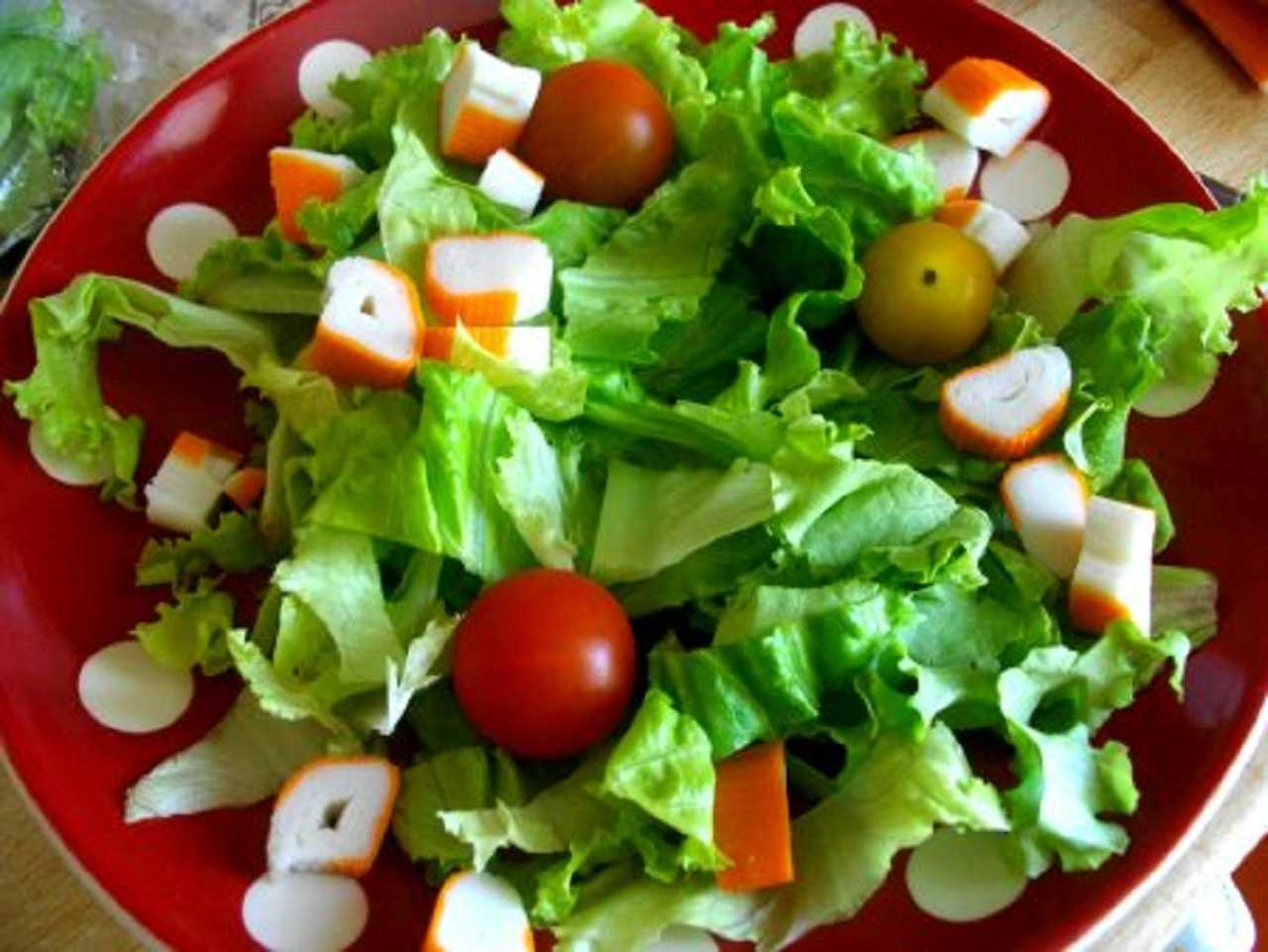 Recette Salade rapide de midi