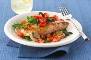 Recette Saumon au four à la méditerranéenne