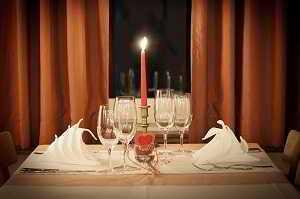 Repas spécial Saint-Valentin 2020