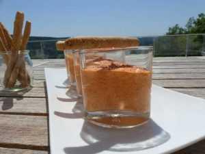 Recette Mousse de poivrons