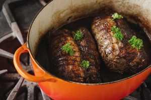 Recette Rôti de porc sauce venaison