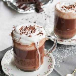 Recette Boisson au chocolat facon melba
