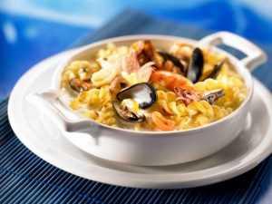 Recette Torti aux fruits de mer