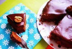 Recette Gâteau chocolat, café et noix