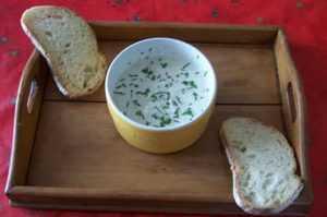Recette Sauce apéritif aux herbes