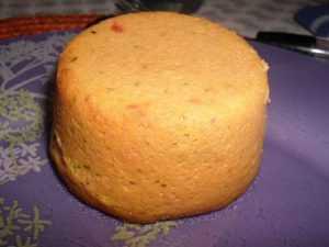 Recette Petits flans de carottes à la mimolette
