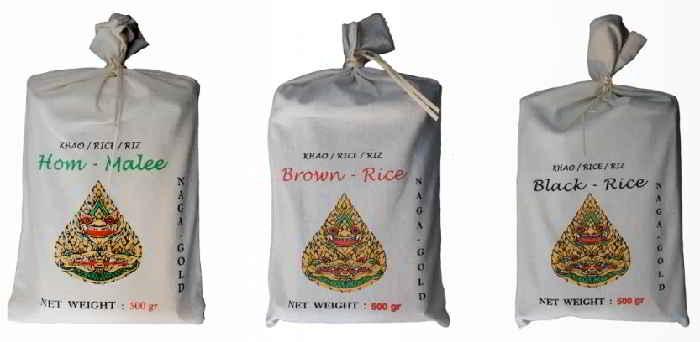 Gamme de riz Naga Gold