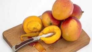 Recette Mangues flambées au rhum