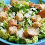 Recette Salade avec croûtons