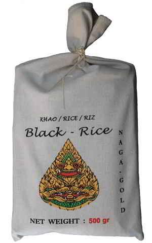 Riz noir de Naga Gold